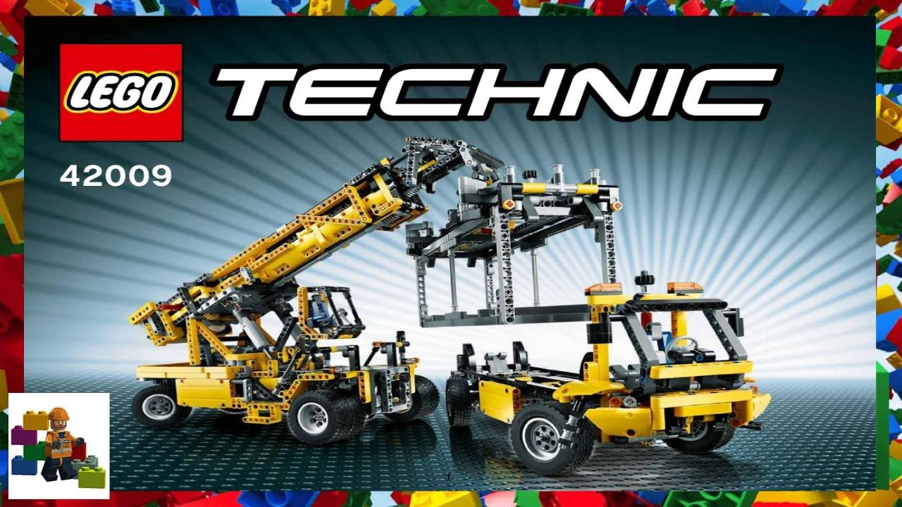 Lego Instructions Technic 42009 Reach Stacker Book 1 Youtube