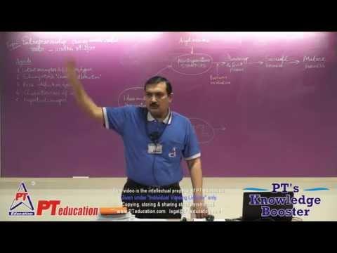 Entrepreneurship - PT's Knowledge Booster 2014-15 - Session 21 (15 min excerpt)