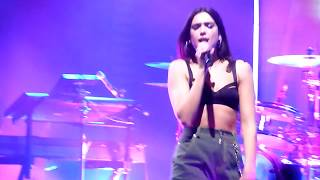 Dua Lipa Blow Your Mind (Mwah) Live The Self Titled Tour Brighton Dome 05 Oct 2017 HD