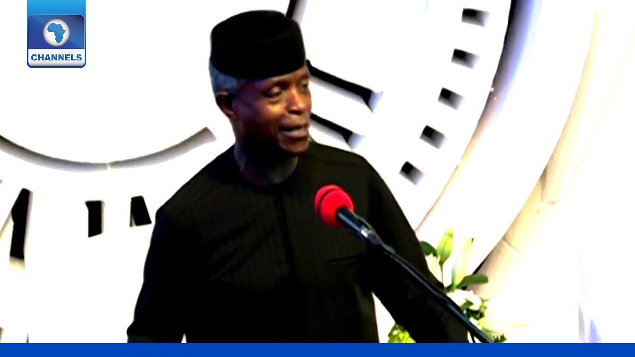 Download Fountain Summit 2021: Ekiti Has Not Lost Its Edge, It Only Needs To Refocus   VP Osinbajo