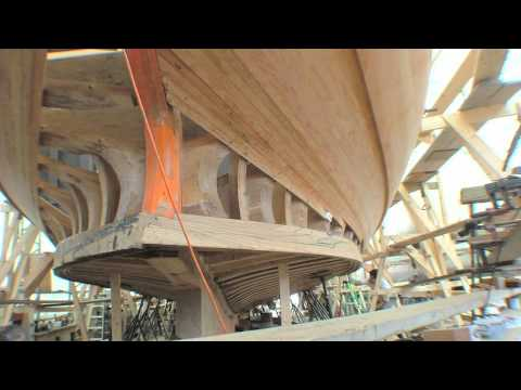 "Restoration of the 103' Mathis Trumpy fantail yacht ""Freedom"" -- McMillan Yachts"