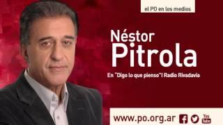 Néstor Pitrola en Radio Rivadavia sobre el paro nacional