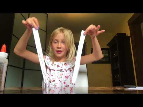 How To Make A Paper Slinky