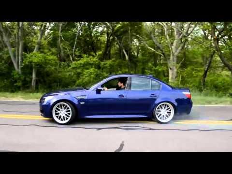 BMW M5 E60 VS accelaration SOUNDS