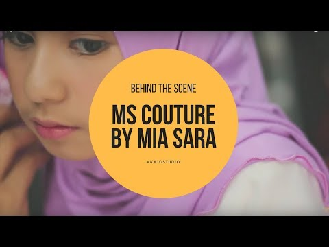 Behind The Scene of MS Couture by Mia Sara