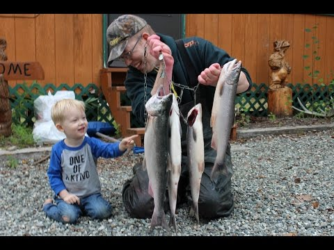 Fishing in Alaska: Part 1 - Salmon fishing on the Kashwitna