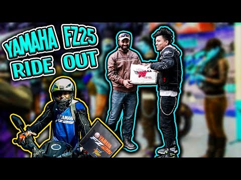 YAMAHA FZ25 RIDE OUT