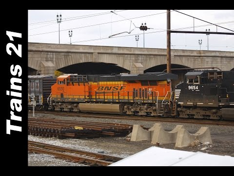 TRAINS 21: Beginnings (3 of 6) Harrisburg, Pa.... The Crossroads Of Norfolk Southern