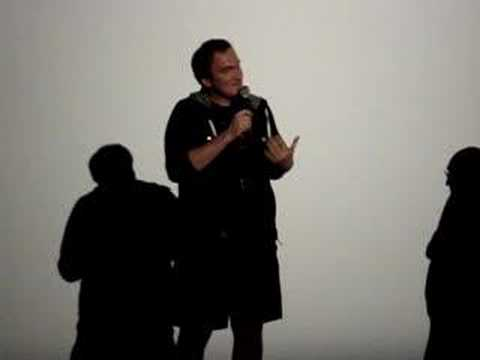 Quentin Tarantino about