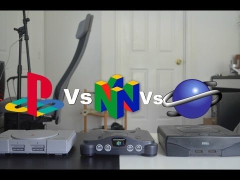 Sony PlayStation 1 Vs Nintendo 64 Vs Sega Saturn - Review