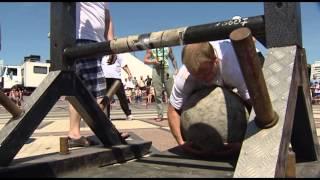 Minsk Strong Battle 2015 - Упражнение 5 - Перебрасывание камней Атласа