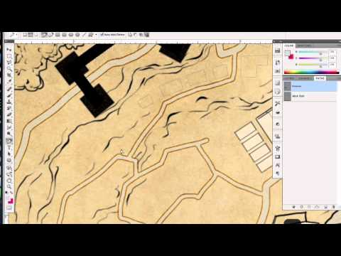 Drawing Lines With The Pen Tool : How to draw buildings with the pen tool youtube