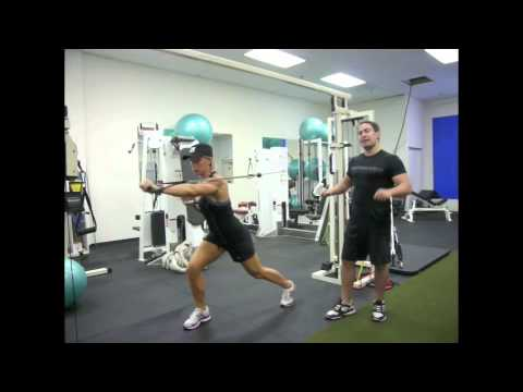 One Arm Chest Press - Single Arm Cable Press