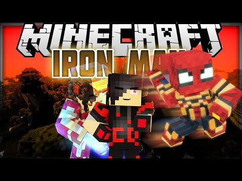 Minecraft: Mod Showcase [UPDATE] - Iron Man [ IRON SPIDER AND MAKE YOUR OWN SUIT ]