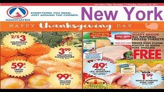 associated supermarket new york ny November 17 – 23 2017