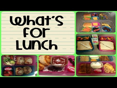 School Lunch Ideas - Lunches This Week Ep. 12