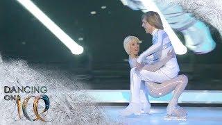John Kelly schwebt völlig schwerelos auf der Eisfläche | Dancing on Ice | SAT.1 TV