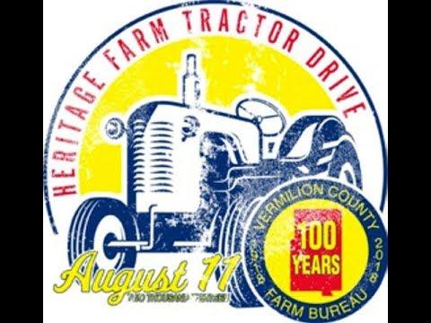 Vermilion County Farm Bureau - 100th Anniversary Tractor Drive