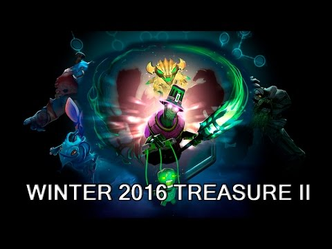 Rubick Puppet Master set and Winter Treasure 2016 II preview