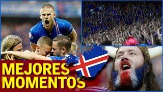 Lo mejor de Islandia en la Eurocopa 2016