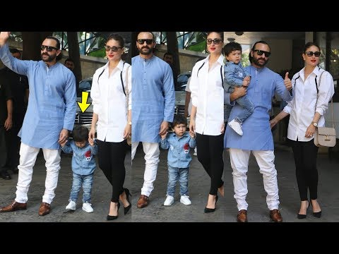 Oh ! Taimur Ali Khan frst time looked sad with parents Kareena Kapoor and Saif at Christmas lunch
