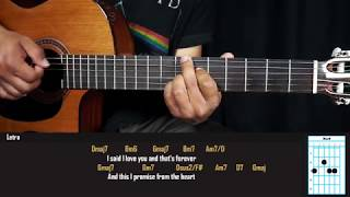 Como Tocar - Just The Way You Are - Billy Joel - Tutorial para guitarra - Acordes Originales
