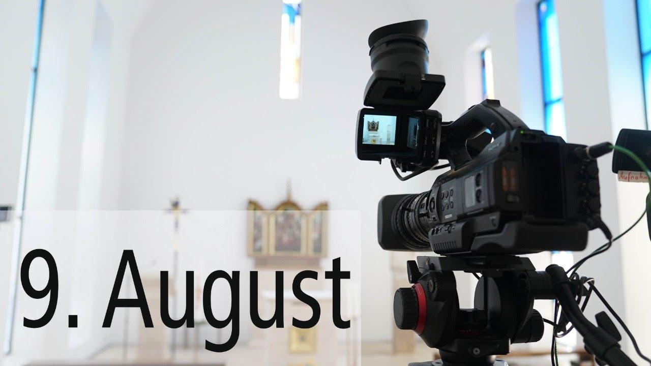 Live-Stream aus der Kapelle des Limburger Bischofshauses am Sonntag, 9. August