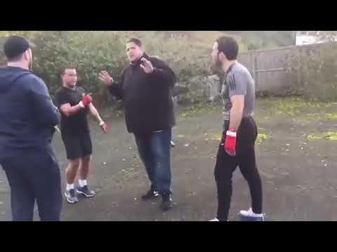Travellers bare knuckle fight