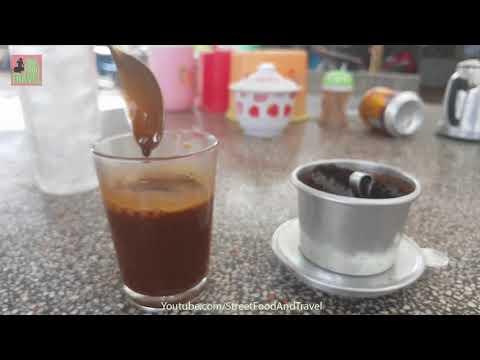 VIETNAM STREET COFFEE - Vietnamese Iced Coffee Street Food