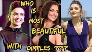 Top 10 World Beautiful Actress & Celebrities with Dimples 2018 ||Dimpled Models