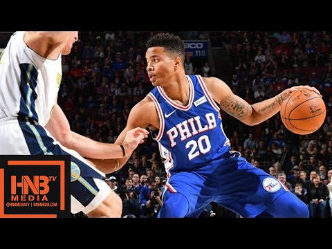 Philadelphia Sixers vs Denver Nuggets Full Game Highlights / March 26 / 2017-18 NBA Season