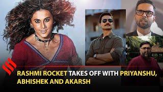 We Felt Angry: Rashmi Rocket Team Priyanshu Painyuli, Abhishek Banerjee, Akarsh Khurana