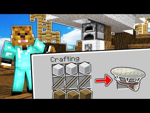 BUILDING AN AIRSHIP - Minecraft The Simple Life Modpack #2