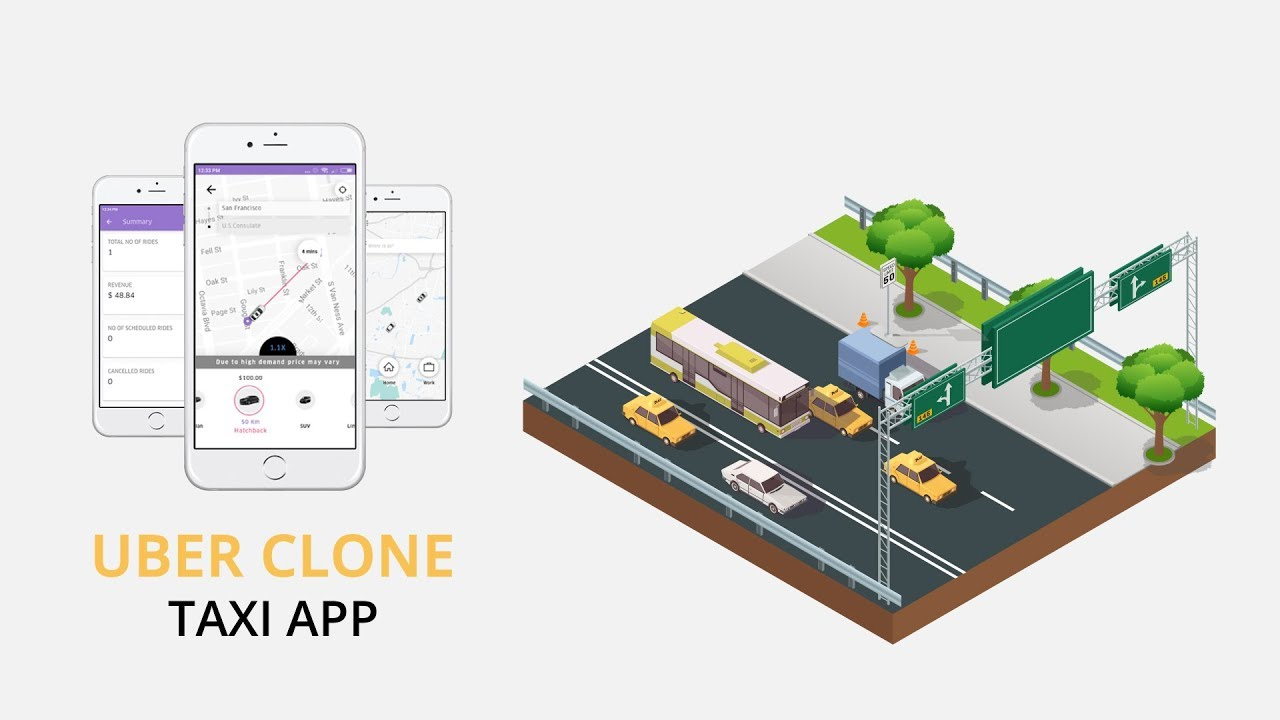 Advanced Uber clone script to start your ride-hailing business in no-time