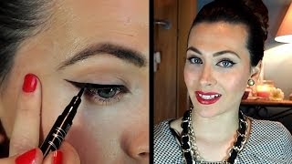 Delineado perfecto: ojo de gato. Paso a paso por Lizy P ♥ Perfect cat eye eyeliner by Lizy P.