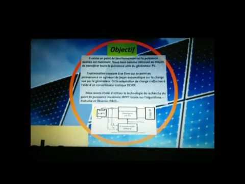 Le Systeme Photovoltaique et La MPPT
