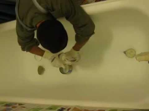 Filmato verniciatura vasca bagno 1 youtube - Verniciatura a bagno ...