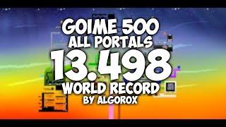 Goime 500 All Portals Speedrun | 13.498 (WR)