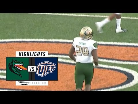 UAB vs. UTEP Football Highlights (2018) | Stadium