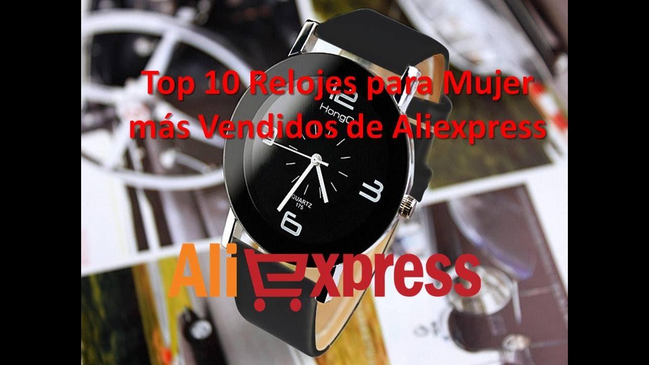 Top 10 Relojes para Mujer más Vendidos de Aliexpress - YouTube a724566f99ed