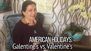 ▶️ Сюрприз на День святого Валентина.  Happy Valentine's! А что такое Galentine's?