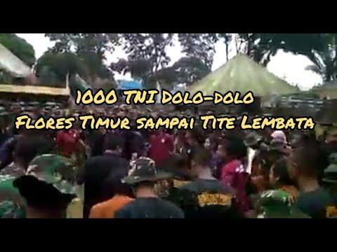 1000 TNI Dolo dolo Flores Timur