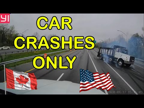 Insane Car Crashes USA & Canada | BEST OF Hit And Run, Accident, Road Rage, Bad Drivers, Brake Check