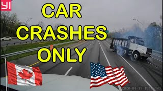 Insane Car Crashes USA \u0026 Canada | BEST OF Hit And Run, Accident, Road Rage, Bad Drivers, Brake Check