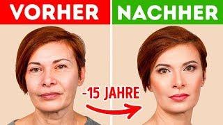 7 Make-Up Tricks, Die Dich Jünger Aussehen Lassen