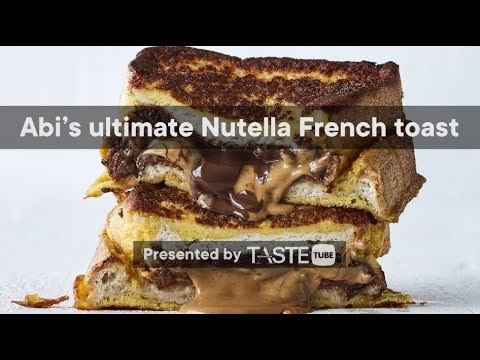 Abi's ultimate Nutella-and-peanut butter French toast | Woolworths TASTE Magazine