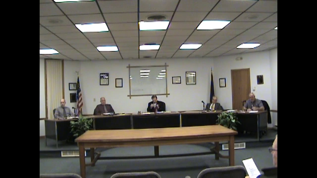 Rouses Point Village Board Meeting  3-5-18