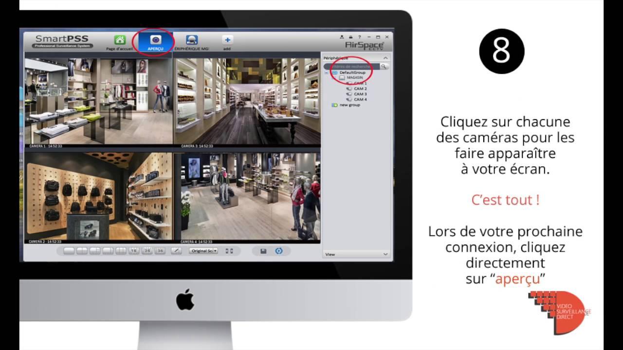 logiciel de visionnage a distance via internet