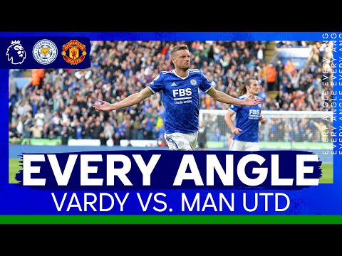 Vardy With Instant Reply | Every Angle