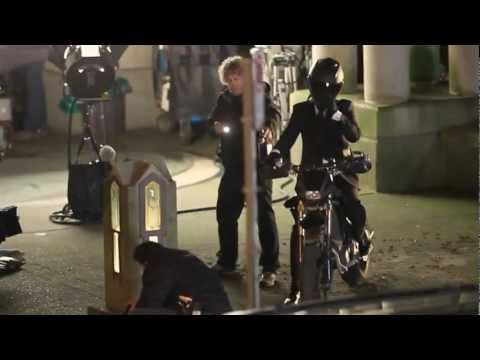 Popular CW TV Show Arrow filming Downtown Vancouver